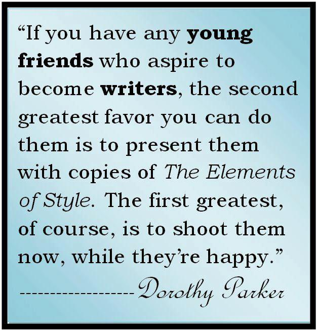 Dorothy Parker Quotes: How To Add A Little Humor To Your Story