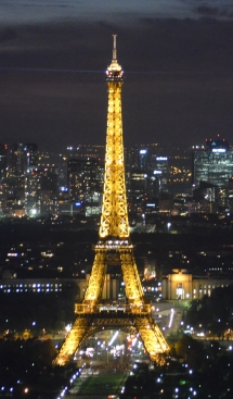 eiffel tower at-night