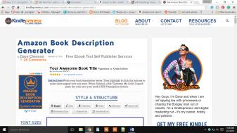 amazon book descrip gen