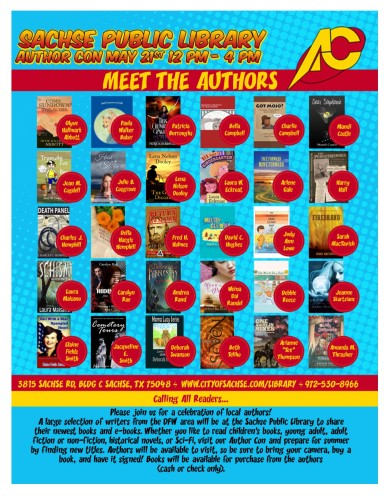 Author Con Flyer