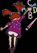 abc girl-160166_640