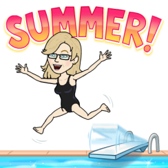 Summer time fun bitmoji