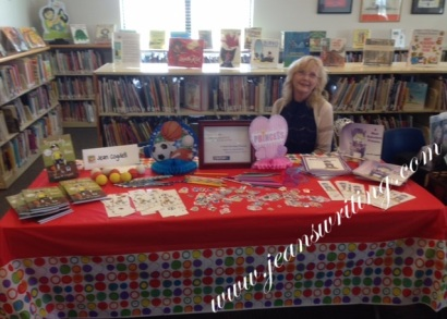 Jean M. Cogdell at Sachse Book Fair
