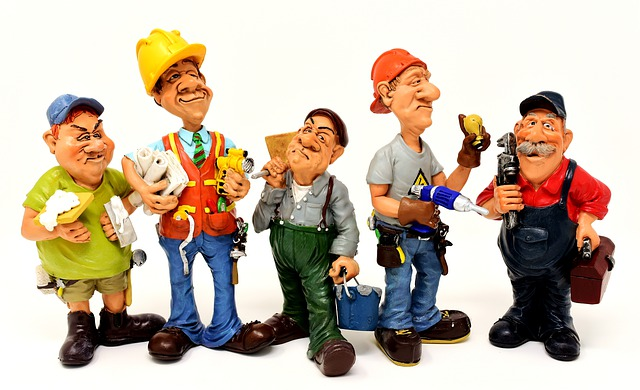 Working Men cartoon characters Jeanswriting.com