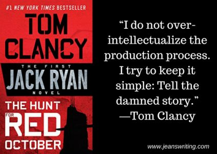 Tom Clancy Quote