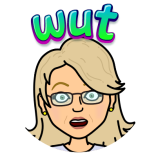 What Confused! Bitmoji Jean M Cogdell