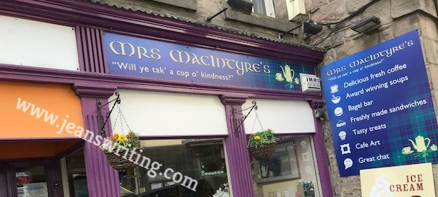 Mrs. MacIntyre's Cafe in Edinburgh Scotland