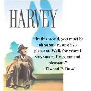 Harvey with Jimmy Stewart
