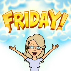 Friday Happy Bitmoji