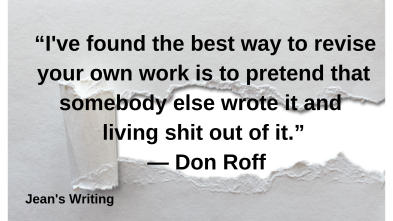 Quote on editing by Don Roff